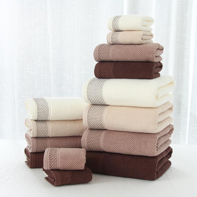 Nuevo 3pcs / set Toalla de baño de playa Toallita de lavado de manos - Textiles para el hogar