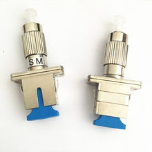 5pcs/lot Good Quality SC Female to FC Male UPC SM Optic Fiber Adapter Connector(China)