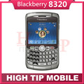 Abierto original blackberry curve 8320 2mp wifi teclado qwerty del teléfono celular garantía de 1 año