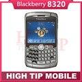 Unlocked  Original Blackberry Curve 8320 WIFI QWERTY Keyboard Cell phone 2MP 1 Year Warranty