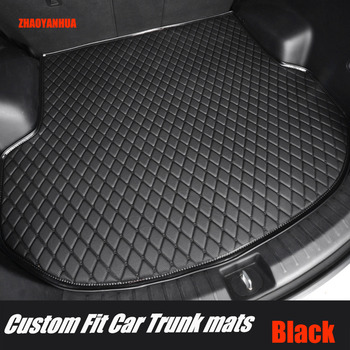 ZHAOYANHUA Car trunk mats for Mazda 6 Atenza Mazda 3 2 8 CX5 CX-5 CX7 CX-7 5D car-styling carpet rugs floor liners image