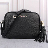 Women's favorite Shoulder Bag Classic Soho Disco bag ITC Small Square small bags of cosmetics Genuine Leather Bag