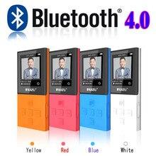 2017 Nueva Original RUIZU X18 Bluetooth Reproductor de MP3 con 8G puede Jugar 130 Horas Grabadora de Alta Calidad Reproductor de Música Sin Pérdidas FM