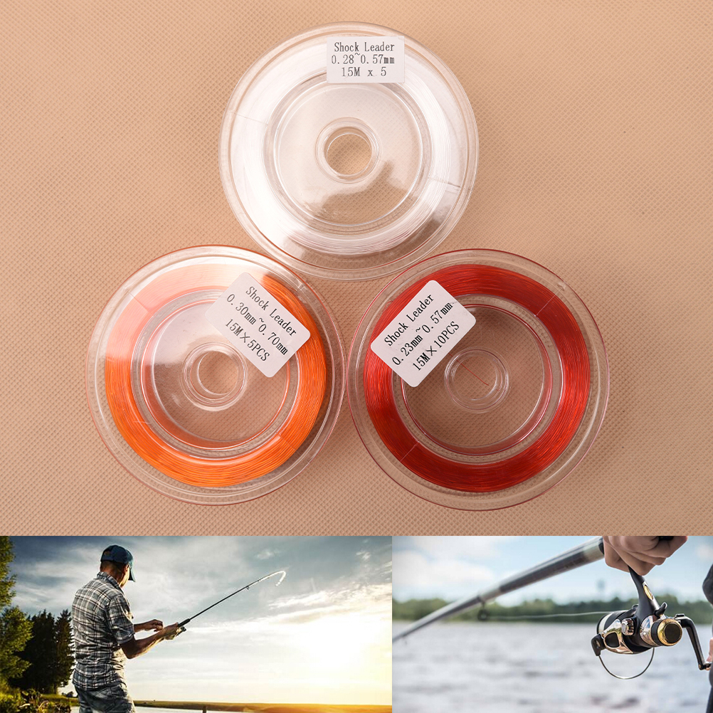 Fly Line Backing Line Fly Fishing Sinking Line 20lb Shock Leader Line 15m
