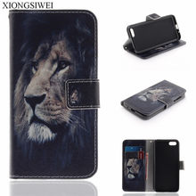 "For Huawei Honor 7S Case Huawei Honor 7S Case 5.45"" Wallet PU Leather Back Cover Phone Case For Huawei Honor 7S 7 S DUA-L22 Flip(China)"