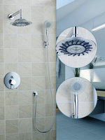 Ouboni Shower Set Torneira Good Quality 8 Inch Shower Head Bathroom Rainfall 50242 42ABath Tub Chrome