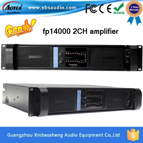 Prix pour [Sur La Promotion] 2400 W * 2CH Lab gruppen fp14000 amplificateur haute stable puissance fp10000q amplificateur avec 3 ans garantie