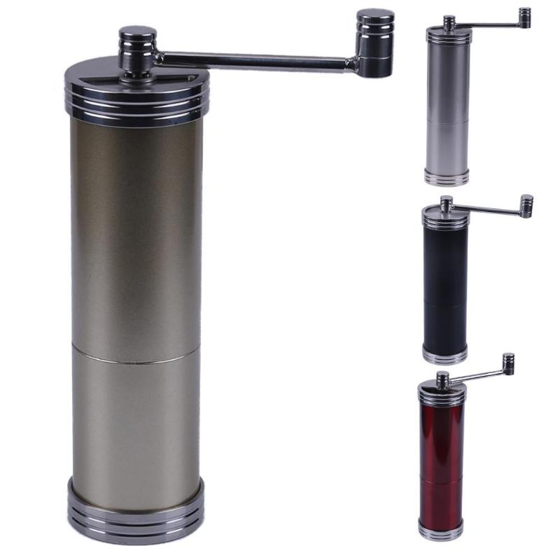 Stainless Steel Manual Coffee bean Grinder Portable Hand Coffee Grinding Machine Burr Coffee Grinder Pepper Mills Christmas Gift household manual hand maize soybean wheat coffee bean pepper grinder crusher