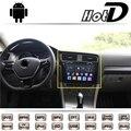 Para volkswagen vw golf mk7 mqb 5g car multimedia dvd jogador de Rádio GPS De Navegação De Áudio do Sistema Android Monitor de Tela Grande NAVI