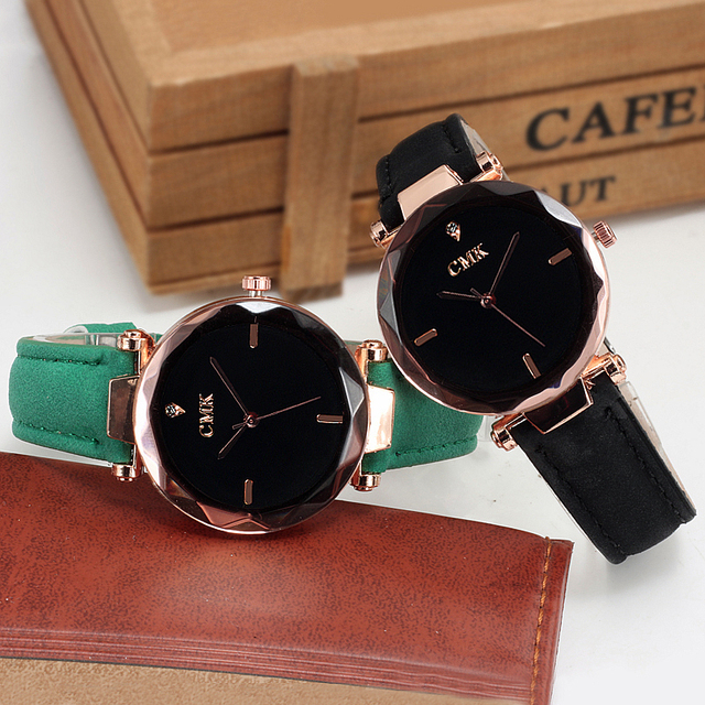 New Hot 5 color jewelry casual men watch fashion gift women watches Jewel gem cu