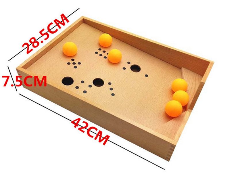New Baby Toy Montessori Wood Blowing Box Early Childhood Education Preschool Training Kids Toys Baby Gift