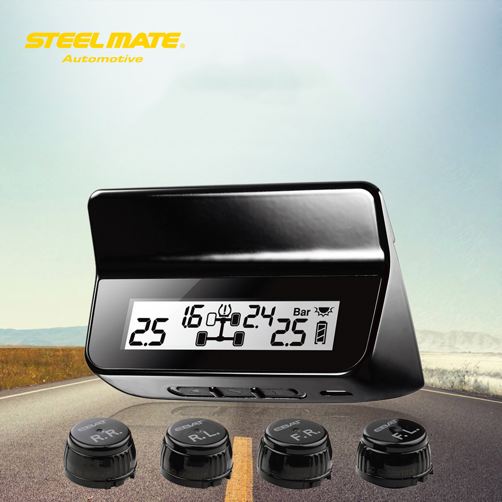 Steelmate ET-640AE DIY TPMS Автомобильная система - Автоэлектроника
