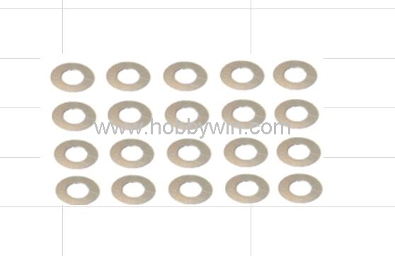 HBX Part 24012 Diff. Shims 4.8*9.5*0.15mm 20pcs For RC Scale Model Buggy Car Off-Road Truck