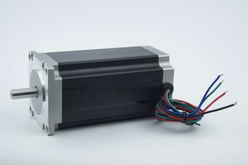 Best Sell! 4 wires CNC Nema 23 Stepper Motor J57HB115-03 286oz-in 115mm 3A shaft diameter 8.0mm 3D Printer Foam Plastic Metal