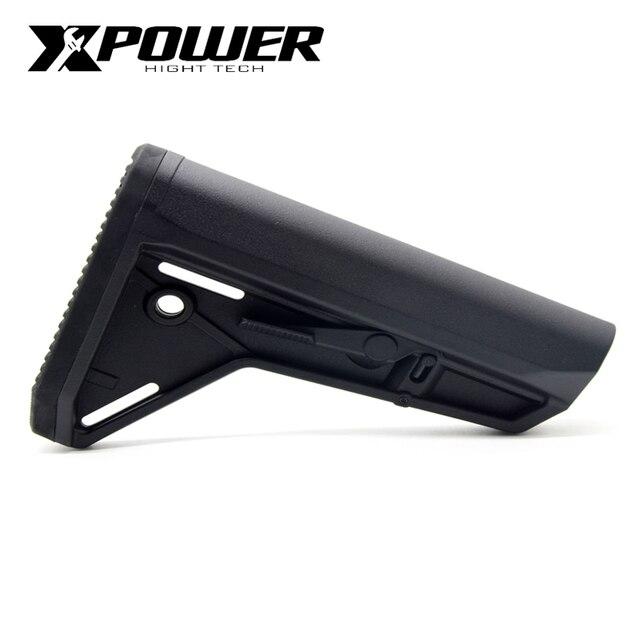 XPOWER MOE Stock SL Style для пневматического ружья Airsoft Paintball аксессуары M4A1 Gel Blaster коробка передач Gen8 Jinming9 JIQU игрушечный пистолет Xpower
