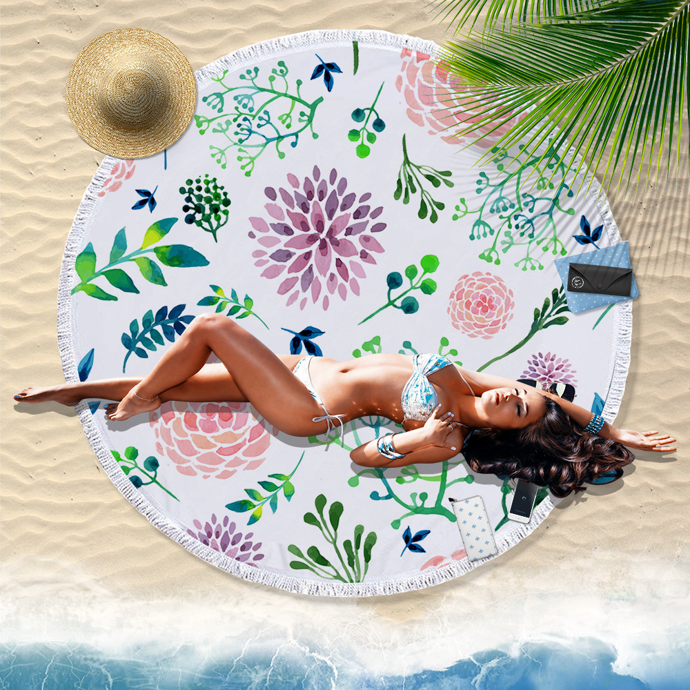 India Datura exotic tapestry macrame macrame wall hanging beach towel round shape yoga mats home carpet bedding outlet carpet