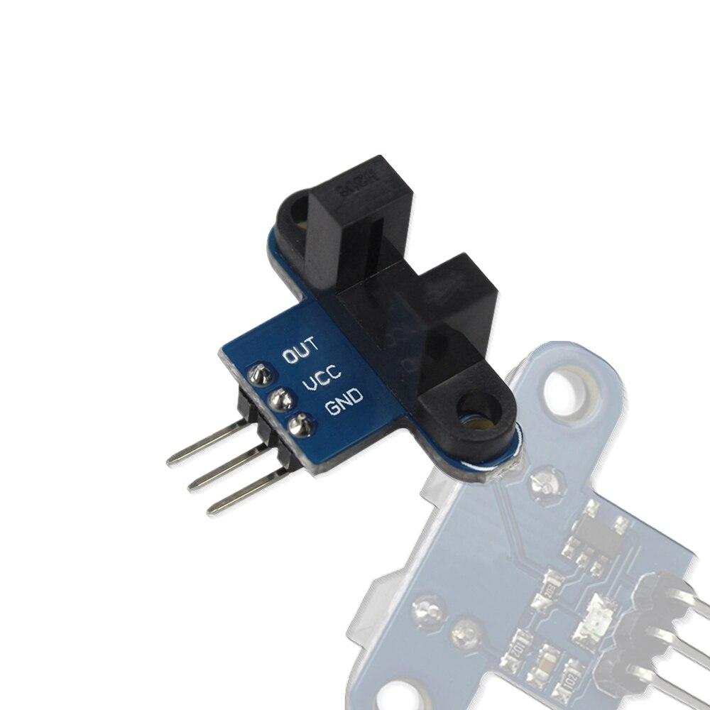 2020!Motor Test IR Infrared Slotted Optical Speed Measuring Sensor Detection Optocoupler Module
