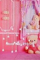 90*200 cm AAA + cristal De Luxe lustre brin perle rideau pour la maison de mariage décoration