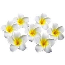 20Pcs Hawaiian Hairpins Plumeria Flower Hair Clip Hair Accessory  For Women Girls Party Prom Hair Decoration