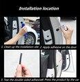 10 М/упак. Автомобилей Уголок Бампер Дверь Аварии Бар Для Hyundai i20 i30 i35 iX20 iX35 Solaris tucson 2016 Аксессуары