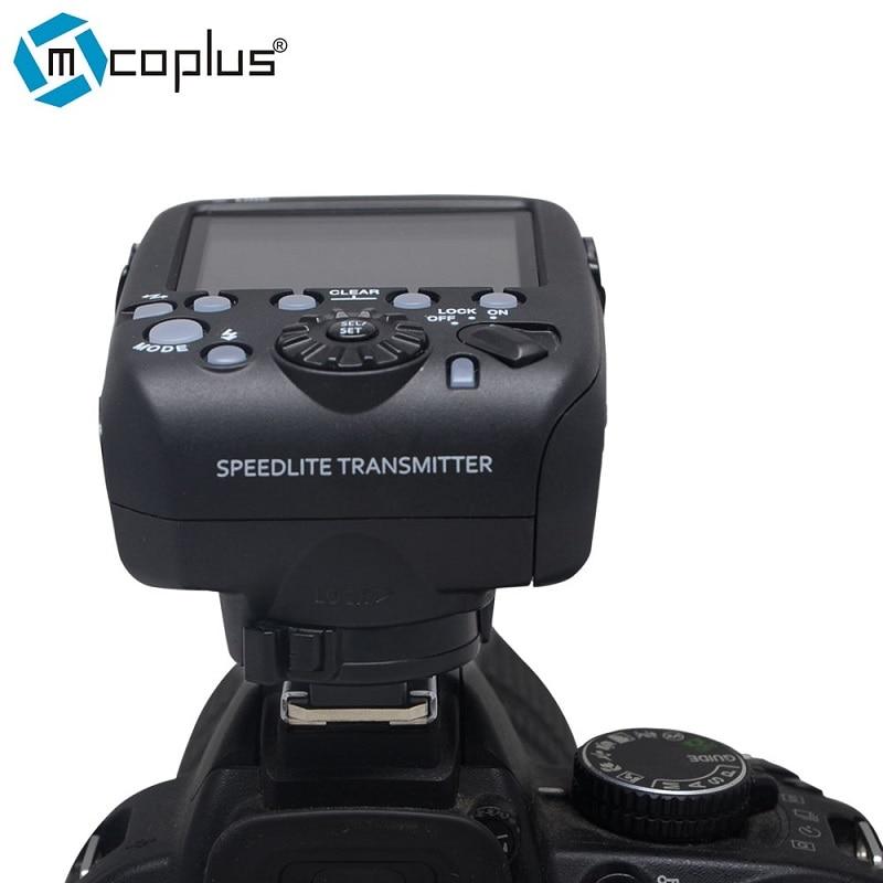 Mcoplus MT-E3-RT TTL Radio Trigger Speedlite Transmitter for Canon 600EX-RT as ST-E3-RT VS YN-E3-RT ftw e3