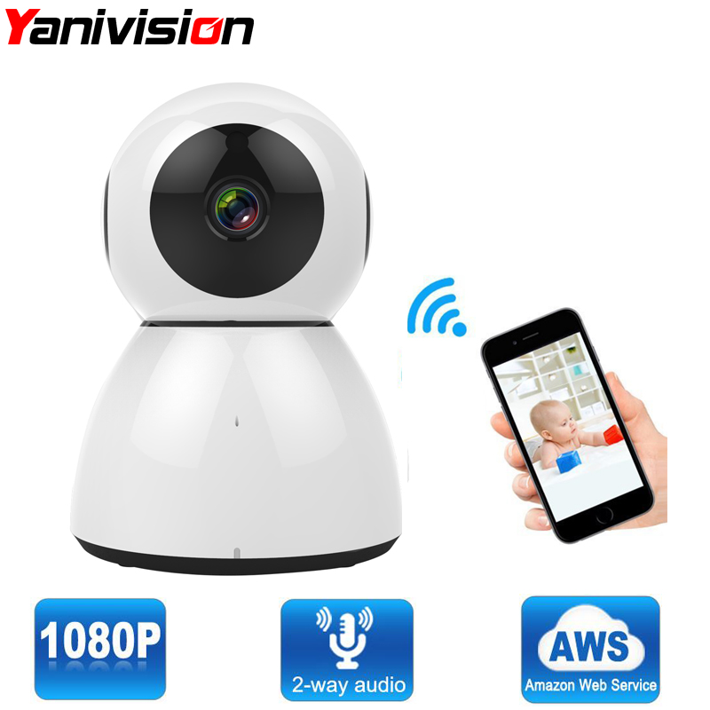 Yanivision Home Security IP Camera Wireless WiFi Camera Surveillance Full HD 1080P Night Vision CCTV Cloud Storage P2P 2MP 720p hd wifi camera p2p wireless baby monitor security camera cloud storage night vision camera compatible with sensor detector