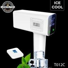 Lescolton depilador elétrico 4 em 1 t012c icecool, máquina de depilação permanente de pelos, depilador elétrico