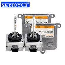 SKYJOYCE Kit de Ballast au xénon caché, ampoules au xénon pour phares de voiture 35W D1S D3S 4300K 5000K 6000K D1S D1R D3S