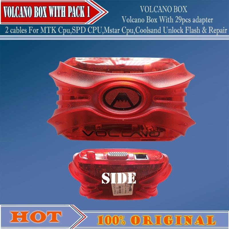 gsmjustoncct Volcano Box For MTK SPD Mstar Cpu Coolsand