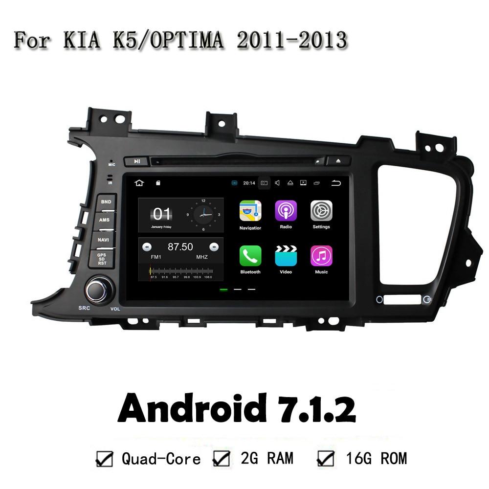 8 Android 7 1 2 Quad Core Head Unti Multimedia Car DVD Player For Kia K5
