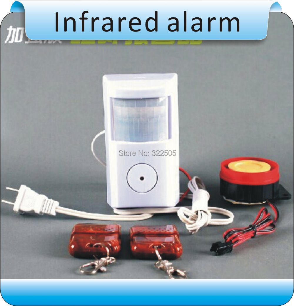 Two speakers remote control/ Infrared alarm/ Household doors and Windows alarm  + 2 remote remote service discovery and control
