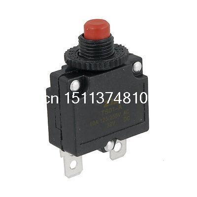 0.38 Thread Dia DC 32V Air Compressor Circuit Breaker Overload Protector 10A