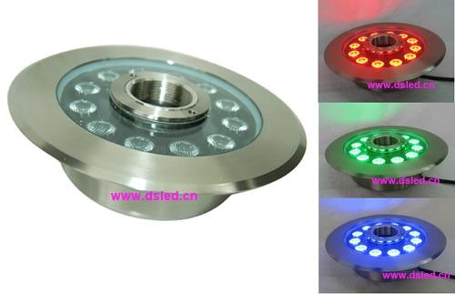 IP68,good quality,36W LED RGB underwater light,LED RGB fountain light,24V DC,DS-10-49-36W-RGB,stainless steel,2-year warranty ce ip68 good quality high power 27w rgb led pool light rgb led fountain light ds 10 31 27w rgb rgb tri chip 3in1 12v dc
