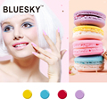 Bluesky New Nail Art Design Summer Colors 4Pcs Soak Off Gel Nail Polish High Quality Charming Nail Gel Polish