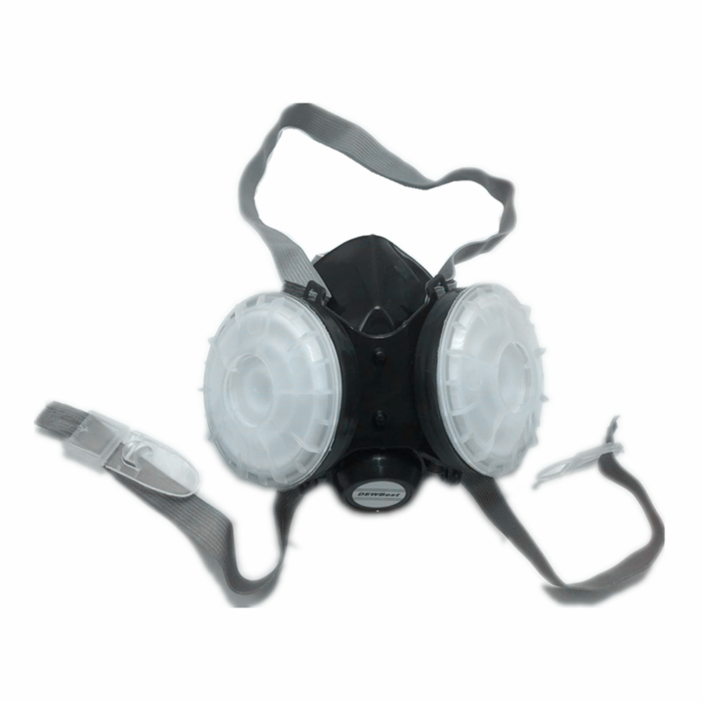 Dewbest 1008 Respirator Face Gas Mask Painted Activated Carbon Dust-tight Smoke-proof Chemical Pesticide Formaldehyde Dust Mask Back To Search Resultssecurity & Protection Respirators