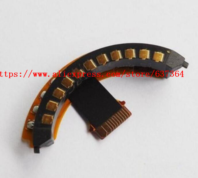 NEW FS12060 12-60 Lens Bayonet Mount Ring Flex Contact Point Cable For Panasonic H-FS12060 12060 12-60mm Repair Parts