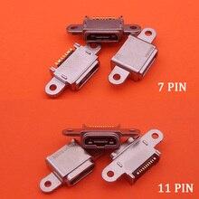 10 pièces pour Samsung G930F S7 edge G935F G930P G930A G930V G930T G930P G930 micro usb prise connecteur de charge prise dock prise port