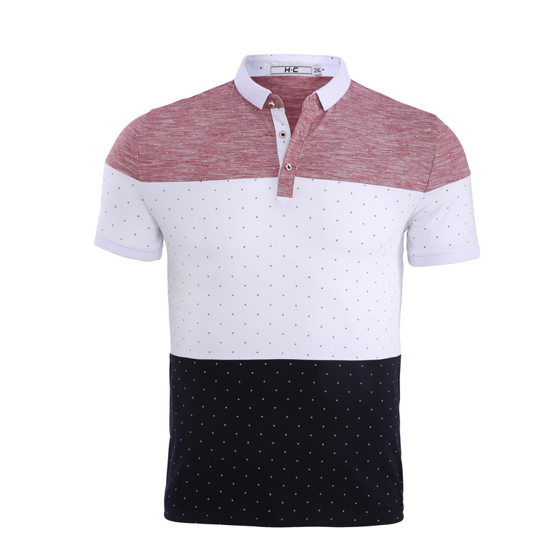 Jeetoo New Brand   Polos   Mens Striped   Polo   Shirts Cotton Short Sleeve Shirt Casual Stand Collar Male   Polo   Shirt Casual Clothing