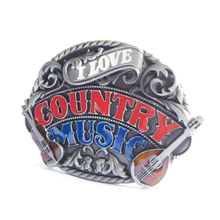Country Music Belt Buckle