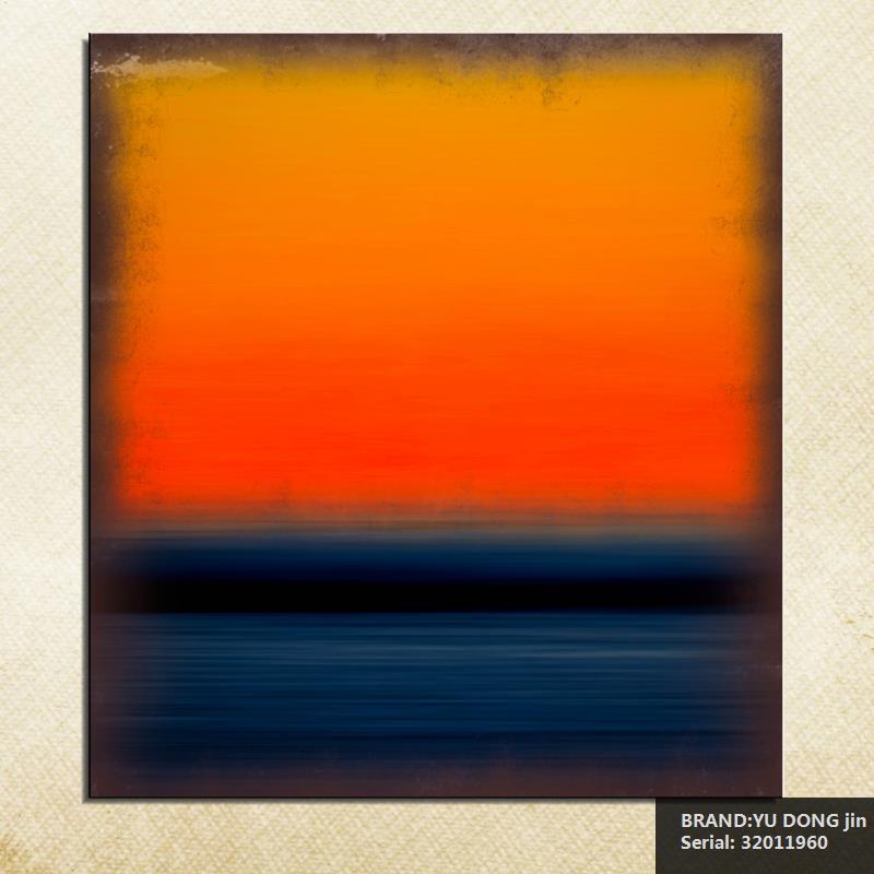 Mark Rothko Νεκρή φύση Κλασικό πετρέλαιο Ζωγραφική τέχνη Σχέδιο ψεκασμού Unframed καμβά εικόνα πολύτιμος λίθος κουζίνα Αδιάβροχο32011960