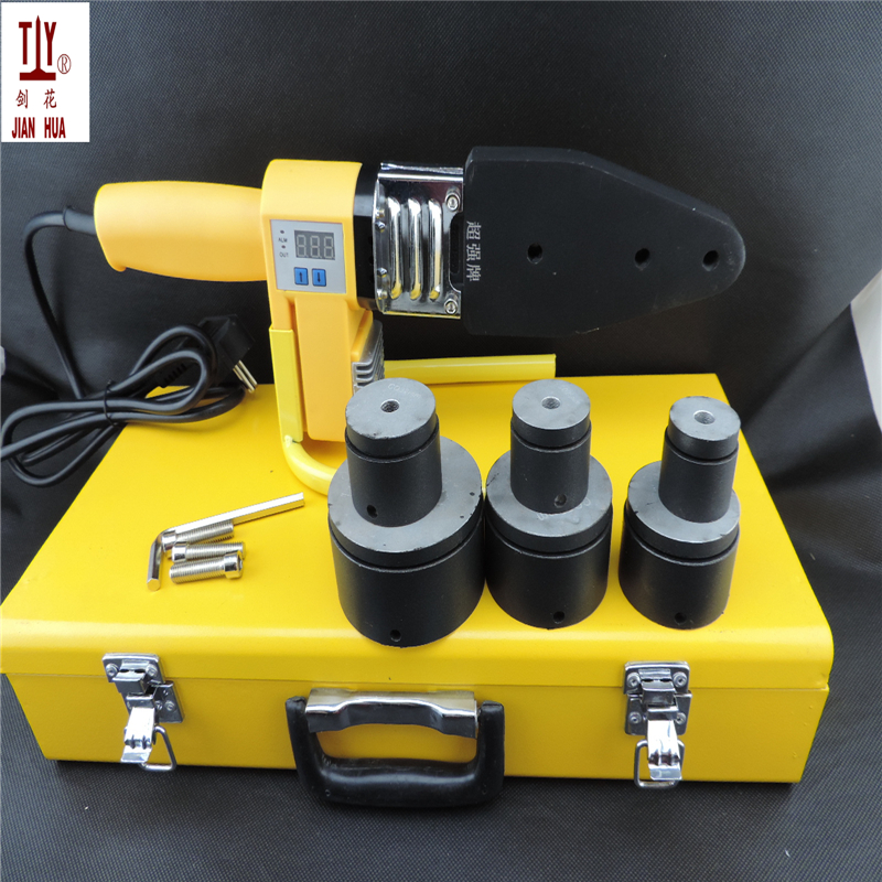 THE US POWER PlUG 110V Microcomputer digital display plastic pipe welder PPR welding machine welder pp