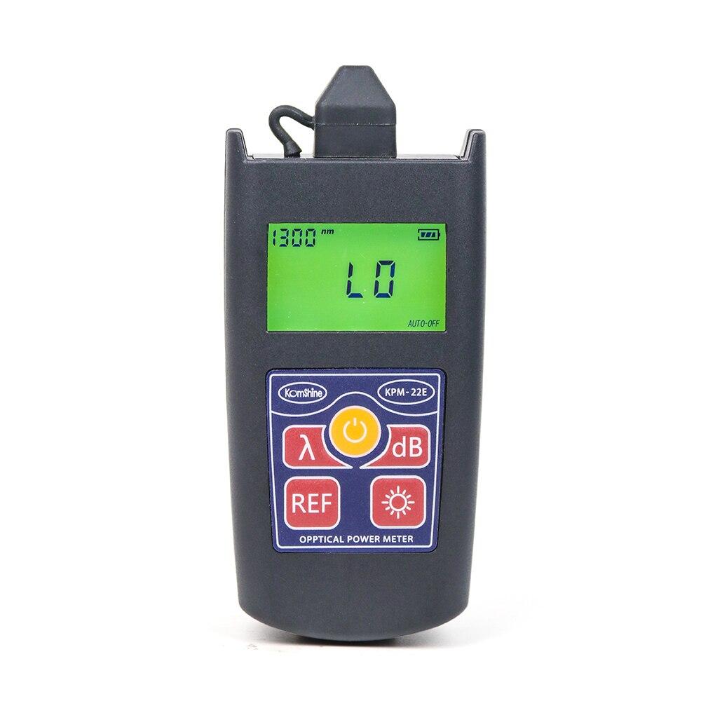 Image 3 - Komshine Newest update KPM 22E optical fiber loss test tool Pocketsize optical power meter Wattmetres-in Fiber Optic Equipments from Cellphones & Telecommunications