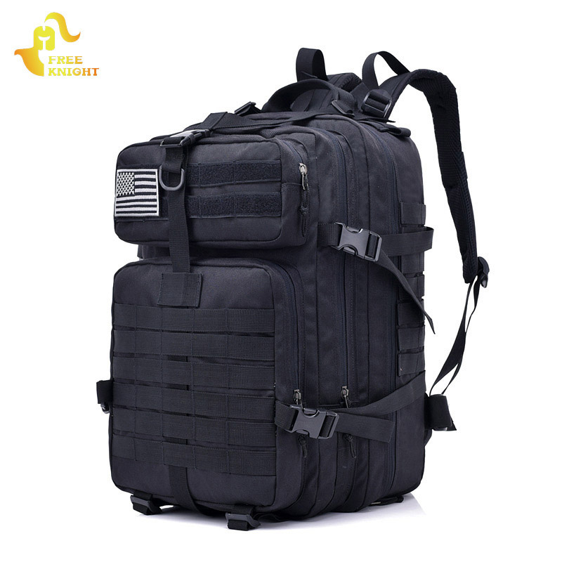 Free Knight 36L Sports Bag Military Tactical Waterproof Army Pack Molle Tactic Backpacks Camouflage Backpack for Men And Women onetigris 1000d nylon shoulder bag sling pack molle handbag men s messenger edc bag for sports travel army military packs