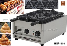 Commercial Use Non-stick 110v 220v Electric Poo Shaped Waffle Iron Maker Machine Baker