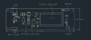 Image 5 - LILYGO® TTGO T Energy ESP32 8MByte PSRAM ESP32 WROVER B WiFi & Bluetooth Module 18650 Battery Development Board