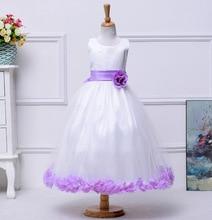 Фотография Girls easter dresses teenagers baby Princess flower wedding birthday dress ceremony little girls evening gowns 3t 10 12 years