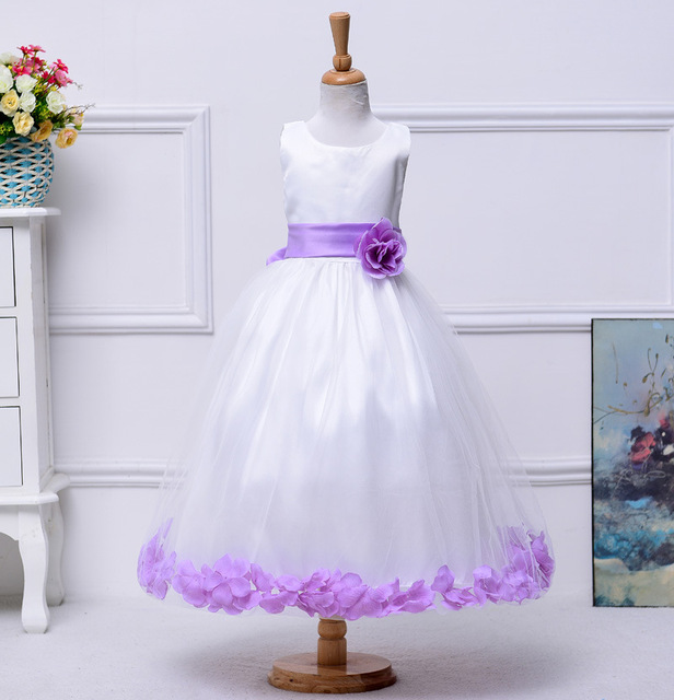 39a200c117 3t 10 12 14 years Girls easter dresses teenagers baby Princess flower  wedding birthday dress ceremony
