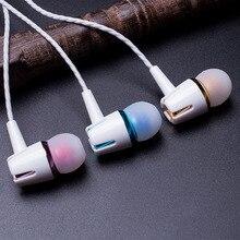 3.5mm Fones De Ouvido Fones de Ouvido fones de ouvido Estéreo Com Microfone fones de Ouvido Do Esporte com controle de fio para Optima Digma Linx 4.7 HD 4.01
