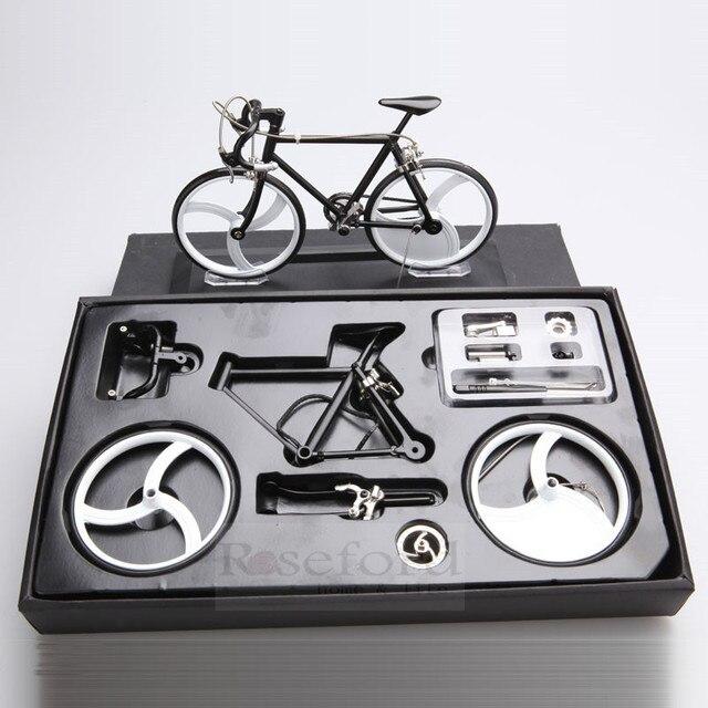 Diy handgemaakte geassembleerd legering metalen fiets for Metalen decoratie fiets
