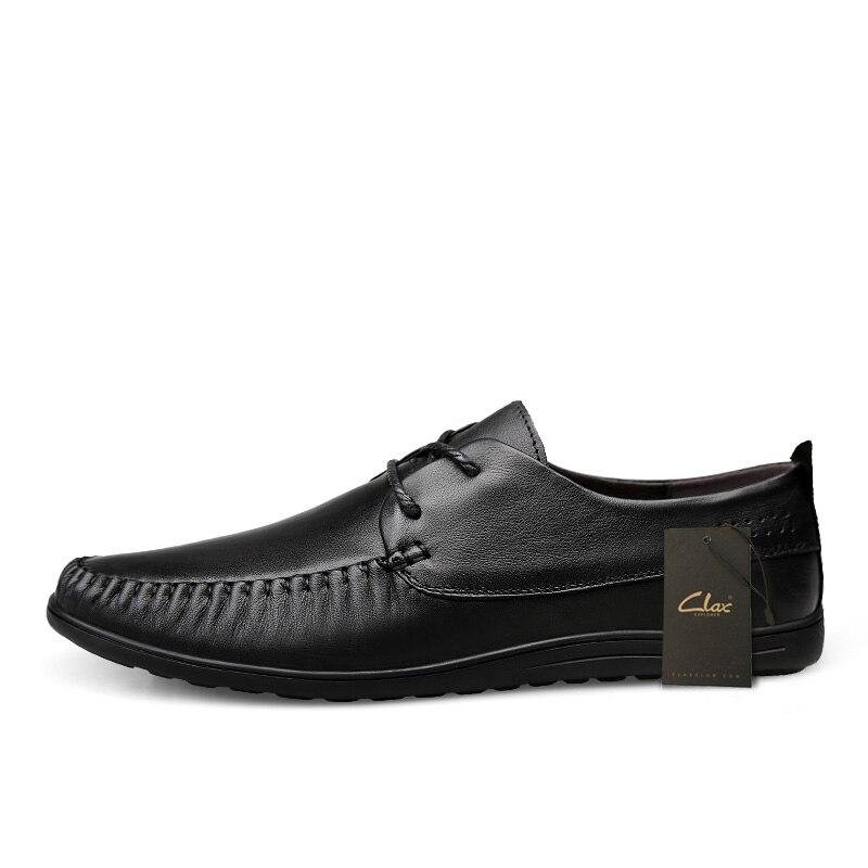 Brun En Chaussures Occasionnelle Black Hommes brown De Homme Clax Noir Cuir Derbies Élégante Automne Véritable Chaussure wgzHqBx1B